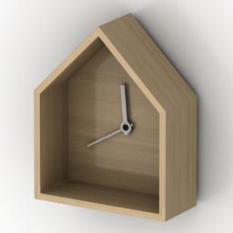 Clock 3D Model
