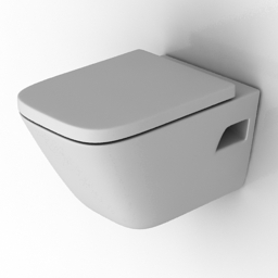 Lavatory pan 3D Model