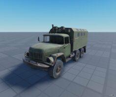 Military zil131 Sam's Story 3D Model