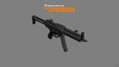 Navy MP5 N 3D Model