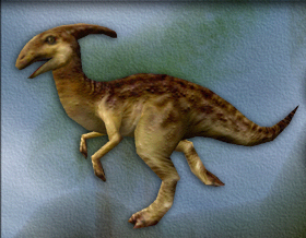 Parasaurolophus 3D Model