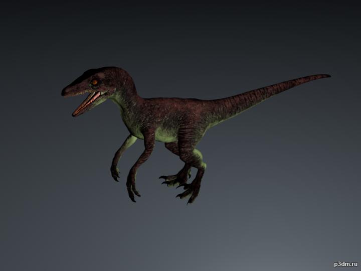 Pyroraptor 3D Model