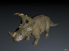 Sinoceratops 3D Model