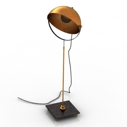 Torchere 3D Model