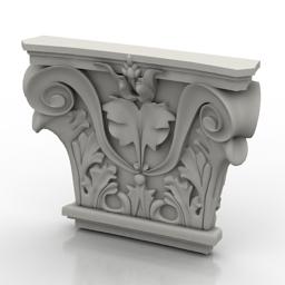 Capital 3D Model