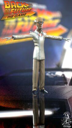 Doc Brown Alt CB 3D Model