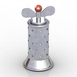 Pepper mill 3D Model