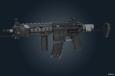 416-C Carbine – Rainbow Six Siege 3D Model
