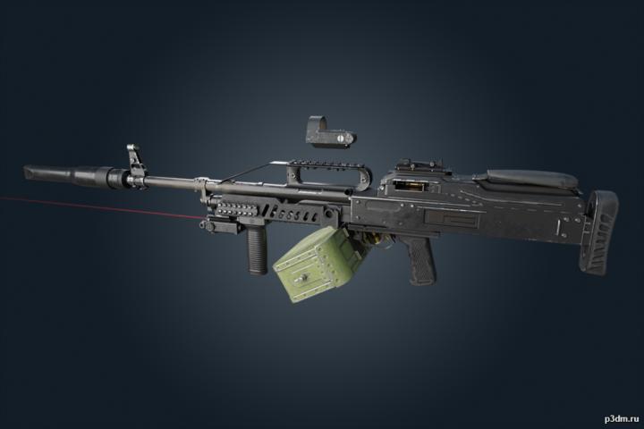 6P41 – Rainbow Six Siege 3D Model