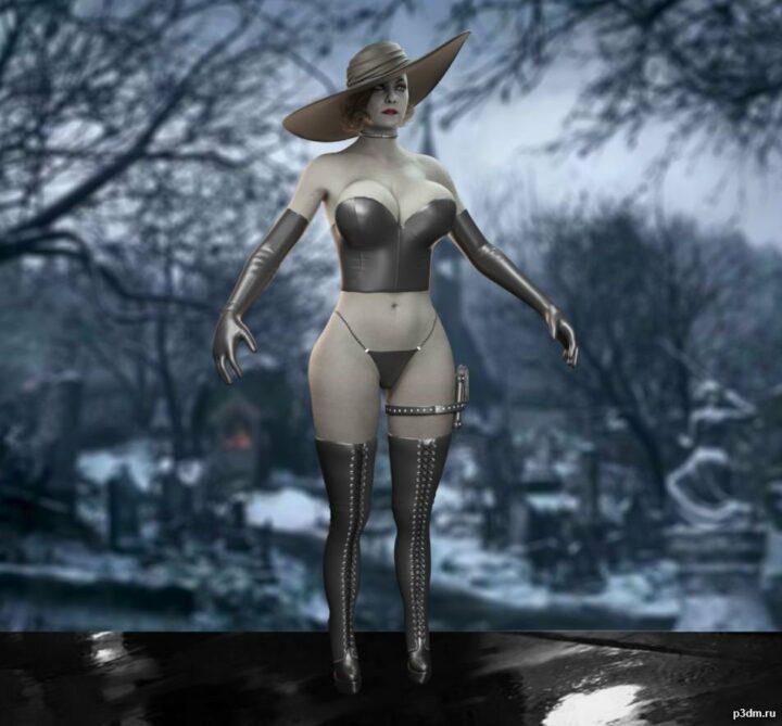 Alcina Dimitrescu Dominat 3D Model