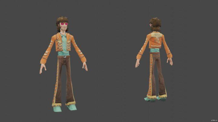 Clive Winston 3D Model