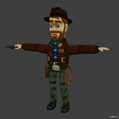 Cork Inda & Friends 3D Model