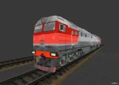 """РР–Р"""" 2РўР116РЈ 3D Model"""