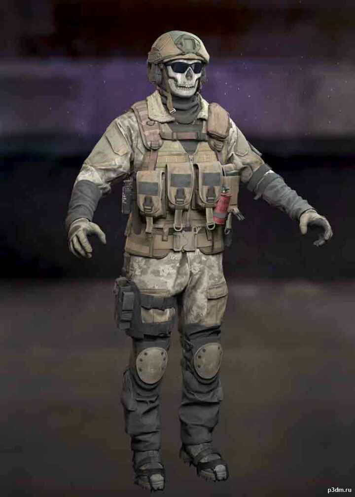 Ghost: Apparition 4.1 3D Model