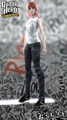 Hayley Williams 3D Model