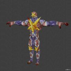 Killerman 3D Model