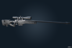 L115A3 – Ghost Recon Breakpoint 3D Model
