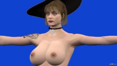 Lady Dimitrescu 3D Model