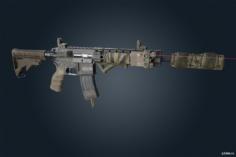 M4 3D Model