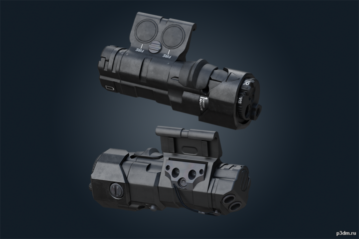 MAWL-DA – Ghost Recon Breakpoint 3D Model