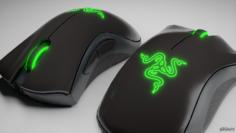 Razer Death Adder Essential Mouse 3D Model