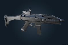 Scorpion Evo3 – Ghost Recon Breakpoint 3D Model