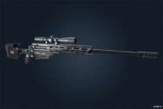 TAC50 – Ghost Recon Breakpoint 3D Model