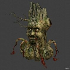 Trent the Tree-Spirit 3D Model