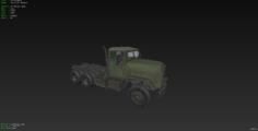 US Transport 3D Model