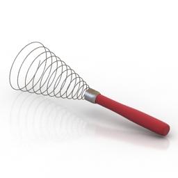 Whisk 3D Model