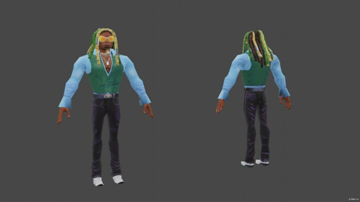 Xavier Stone 3D Model