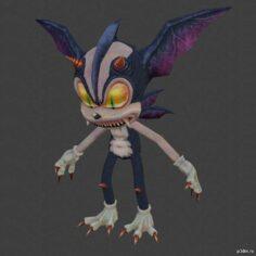 Zodick the Hellhog 3D Model