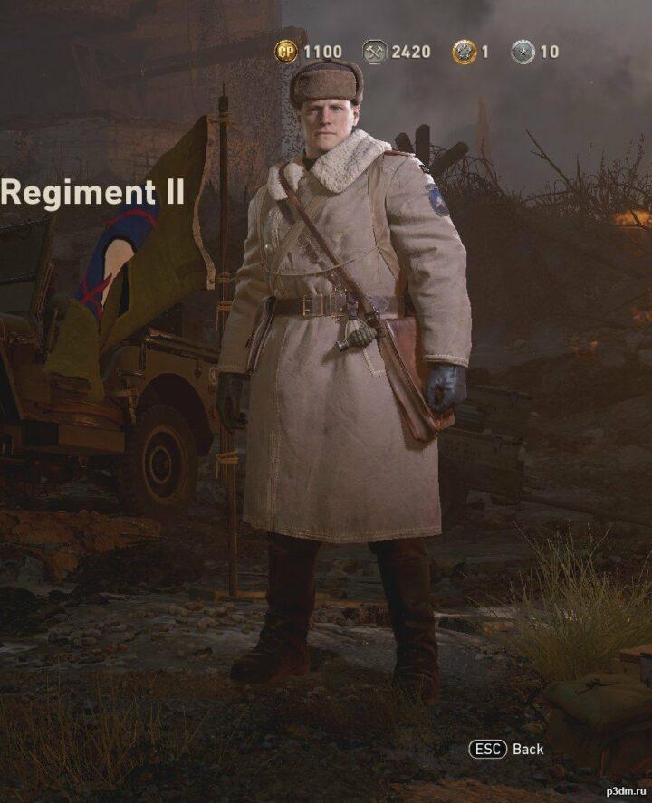 29th Cold-Weather Regiment 3D Model