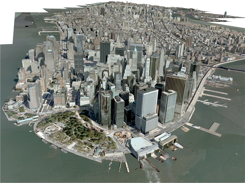 New York City Manhattan 3D Model - 3DHunt co
